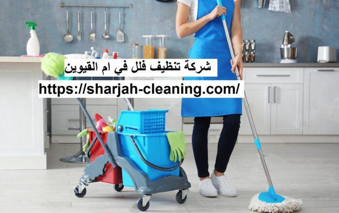 شركة تنظيف فلل في ام القيوين